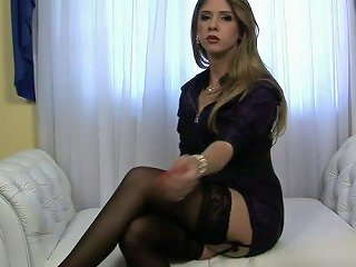 ANYSEX @ Slim And Pretty Ladyman Nicole Ribeiro Would Love To Show You Her Goodies