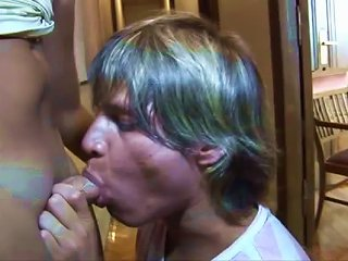 ANYPORN @ Transsexual Prostitute Fucks Her Client In  Deep