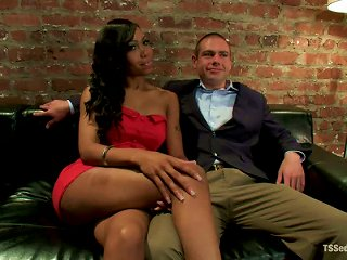 ANYPORN @ John Jammen Gets Bound And Fucked By Cute Tranny Sexy Jade