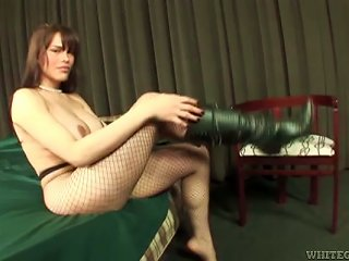 ANYPORN @ Tranny In Bodystockings Fucks A Guy And Rides His Dick