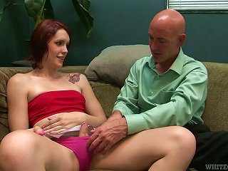 ANYPORN @ Skinny And Nasty Redhead Shemale Is Getting Balled