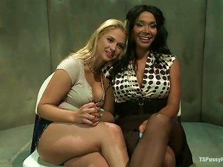 ANYPORN @ Shemale Vaniity Is Making Sarah Love Her Cock
